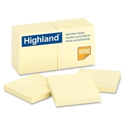 3M Highland Self-Sticking Note Pad