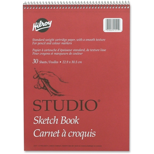 ACCO Brands Corporation Hilroy Professional Studio Sketch Book