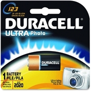 Procter & Gamble Duracell DL123A Lithium Camera Battery