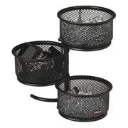 Sanford, L.P. Rolodex Expressions Wire Mesh 3-Tier Swivel Tower