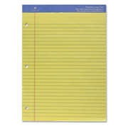 Sparco Three-hole Punched Ruled Letter Pads
