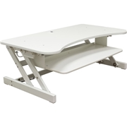 Lorell Deluxe Adjustable Desk Riser