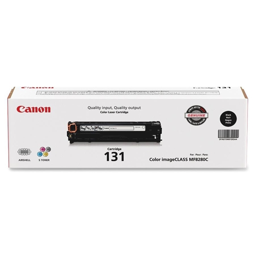 Canon OEM 131 HY Black Toner Cartridge