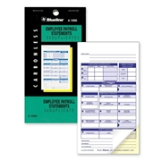 Blueline A1000 Payroll Statement Book