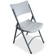 Lorell Heavy-duty Tubular Folding Chair