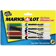 Avery Marks-A-Lot 4-Color Dry Erase Marker