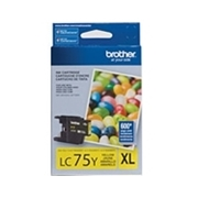 Brother LC75 YW (LC-75 Yellow) OEM Ink Cartridge