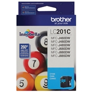 Brother LC-201 CS (LC201CS) OEM Ink Cartridge