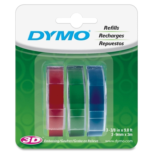 Newell Rubbermaid, Inc Dymo 1741671 Glossy Embossing Tape