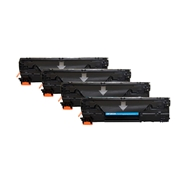 HP Compatible 83A 4pk (CF283A 4pk) Toner Cartridge
