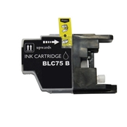 Brother LC75 BK (LC-75 Black) compatible Ink Cartridge