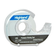 3M Highland Permanent Invisible Tape with Dispenser