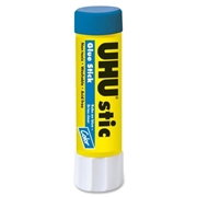 Saunders Mfg. Co. Inc UHU Color Glue Stic, Blue, 8.2g