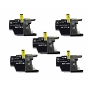 Brother LC75 BK 5pk compatible Ink Cartridge