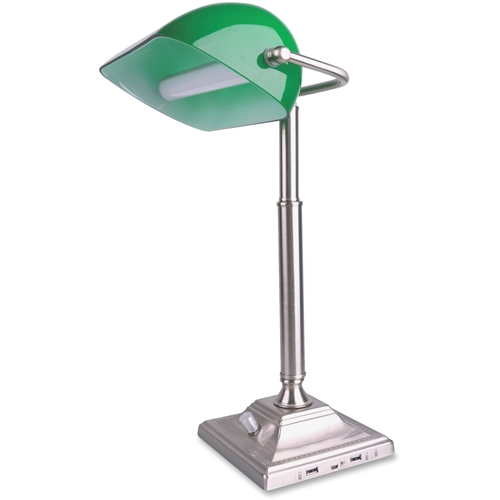 Vision Global Media Group, Inc Vision LED Banker's USB Desk Lamp