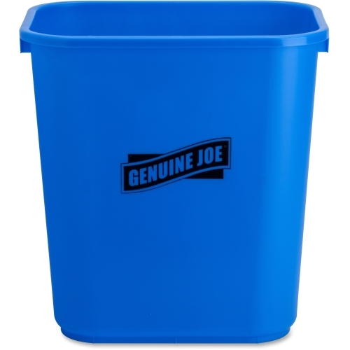 Genuine Joe Recycle Wastebasket