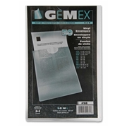 Gemex, Inc Gemex Heavyweight Vinyl File Pocket