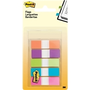 "Post-it&reg 1/2"" Assorted Flags"