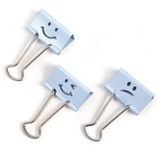 Victor Technology, LLC Victor Emoji Design Binder Clips