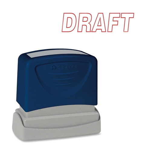 Sparco Products Sparco Self-Inking Stamp