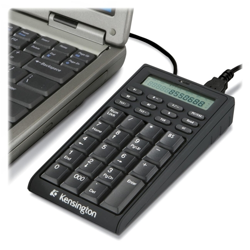 Kensington Computer Products Group Kensington 72274 Notebook Keypad/Calculator with USB Hub - PC & MAC Compatible