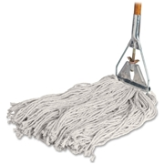 Genuine Joe Cotton Wet Mop with Handle