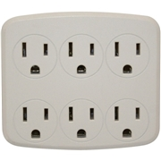 Coleman Cable Woods 6-Outlet Surge Suppressor/Protector