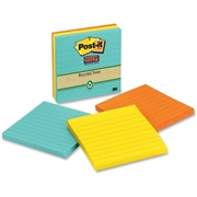 3M Post-it Super Sticky Lined Notes