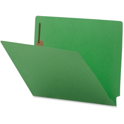 Sparco Products Sparco Colored End Tab Fastener Folder