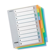 Fellowes, Inc Fellowes Index Tabs - 10 Tabs