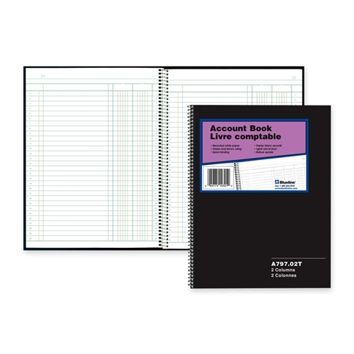 Dominion Blueline, Inc Blueline 797 Series Accounting Book