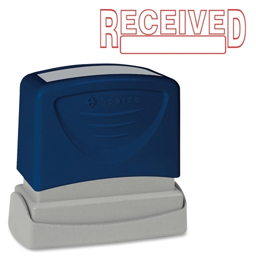 Sparco Products Sparco Pre-Inked RECEIVED Message Stamp