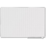Bi-silque Magnetic Gold 1x2 Grid Planning Board