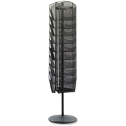 Safco Products Safco Onyx Rotating Mesh Magazine Stand