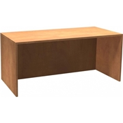 Heartwood Manufacturing Heartwood Innovations Sugar Maple Laminated Desk Shell