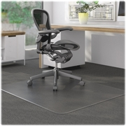 Lorell Rectangular Low Pile Chair Mat