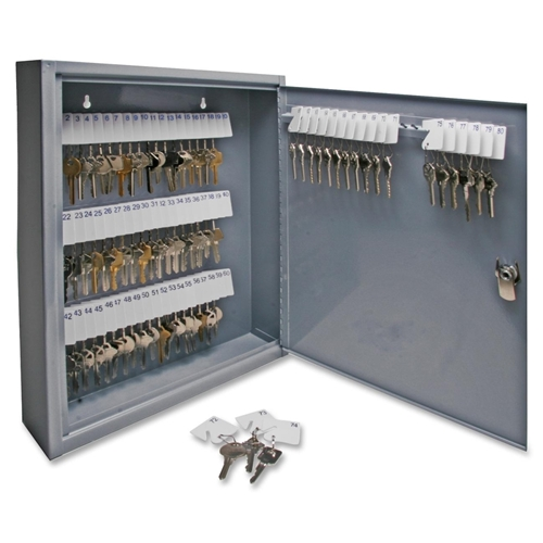 Sparco Products Sparco All Steel Hook Design Key Cabinet