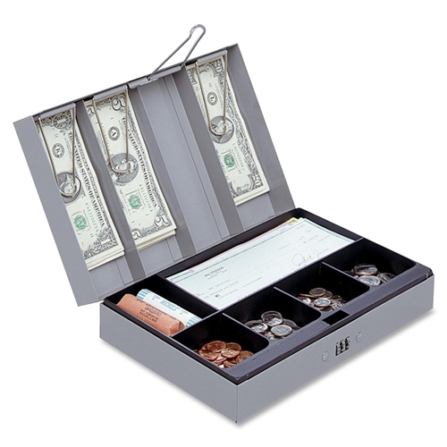 Sparco Products Sparco Steel Combination Lock Cash Box