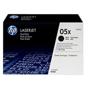 HP OEM 05X Dual Pack (CE505XD) Toner Cartridge