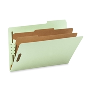Smead Pressboard Classification File Folder with SafeSHIELD Fasteners 19215