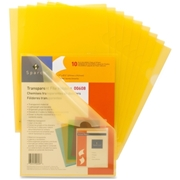 Sparco Products Sparco Transparent File Holder