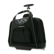 "ACCO Brands Corporation Kensington Contour Carrying Case (Roller) for 15.4"" Notebook - Onyx"