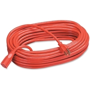 Compucessory Heavy Duty Extension Cord, 100&, Orange