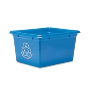 Fellowes Blue Box Office Recycling Container