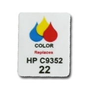 HP 22 Labels