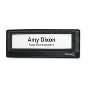 Fellowes, Inc Fellowes Mesh Partition Additions Name Plate