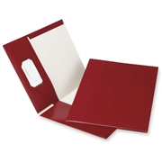 Esselte Recycled Hi-Gloss Two-Pocket Folder