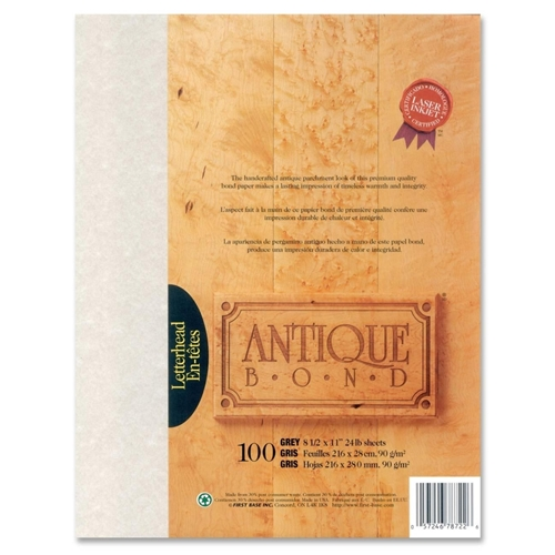 First Base, Inc First Base Antique Bond 78722 Bond Paper
