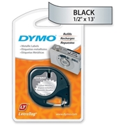 Dymo LetraTag 91338 Metallic Tape