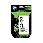 HP #15/78D Combo Pack (C8789FC#140 Combo Pack) OEM Ink Cartridge